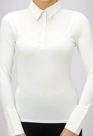 SkinnyShirt Classic Collar Long Sleeve