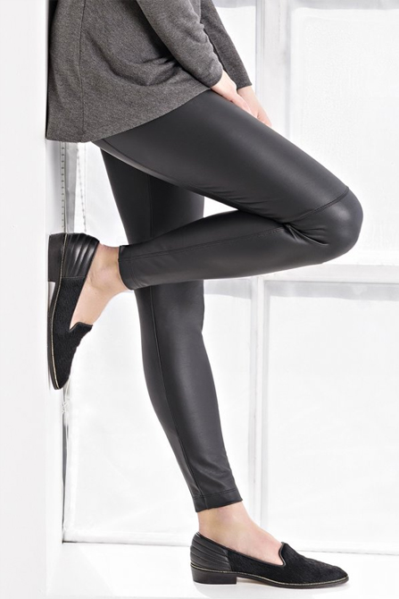 How about vegan leather legging?