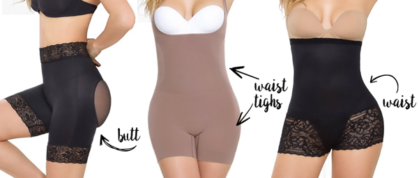 5eb4770d490 There are numerous shapewear pieces to choose from that will help to shape  different areas. The shapewear you choose should be flattering and shaping  the ...