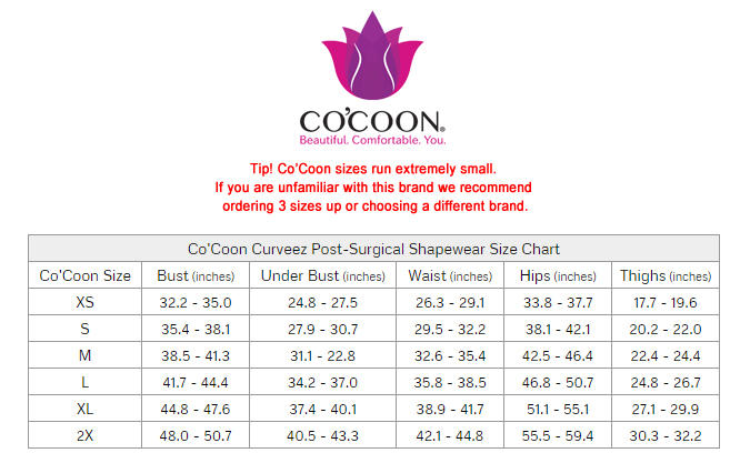 8650c5dd5f Co Coon Curveez First Stage Post-Surgical Long Shaper 2210