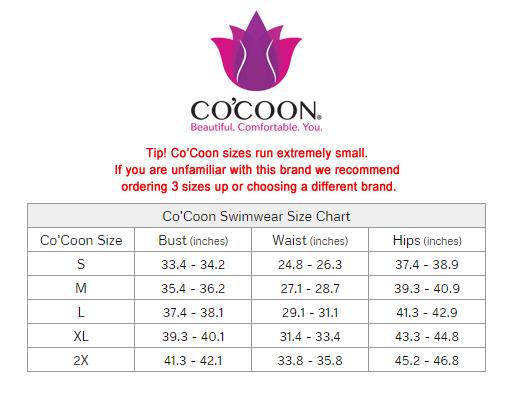 4d3366b092 Co'Coon Chamela Swimwear Body Molding One Piece Bathing Suit CHA22625