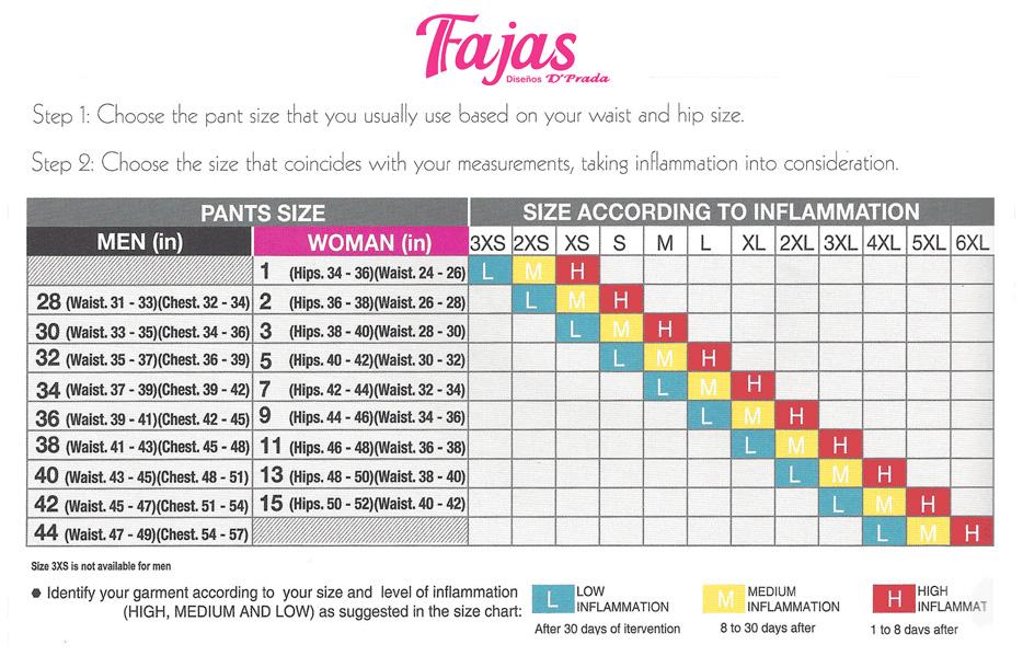 Fajas D Prada Lipo Size Reducing Girdle With Clasps