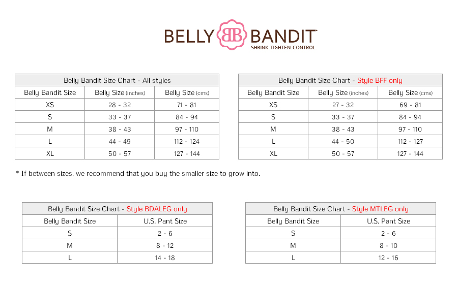 Belly Bandit Before During After Pregnancy Legging Bdaleg Womens