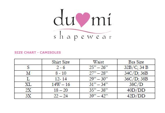 210f979142cb5 DuMi Convertible Firm Control Cami 587L
