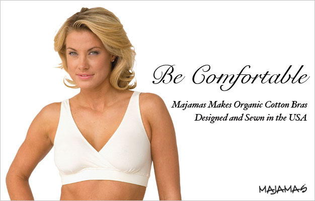 Majamas Organic Cotton Bras