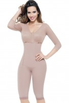 Ann Michell Sarah Full Body Girdle with Sleeves and Bra