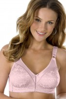 Bali Double Support Lace Wirefree Bra with Spa Closure