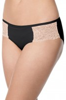 Bali One Smooth U Comfort Indulgence Satin with Lace Bikini
