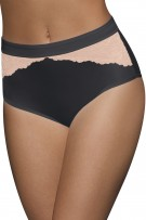 Bali One Smooth U Comfort Indulgence Satin with Lace Brief