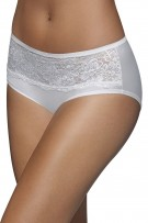Bali One Smooth U Comfort Indulgence Satin with Lace Hipster