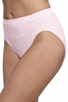 Barely There by Bali Comfort Revolution Microfiber Seamless Hi Cut Panty