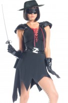 Be Wicked Enticing Bandit Costume