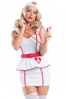 Be Wicked Personal Care Nurse Costume