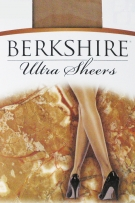 Berkshire Queen Pantyhouse Ultra Sheer & Shimmer Control Top Reinforced Toe
