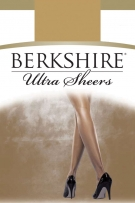 Berkshire Queen Pantyhouse Ultra Sheer & Shimmer Control Top Sandalfoot
