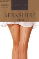 Berkshire Trend Ultra Sheer Back Seam Stockings - Sandalfoot
