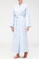 Bonsoir of London Damask Long Robe