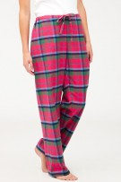 Bonsoir of London Tartan Brushed Cotton Pyjama Trousers
