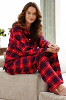 Bonsoir of London Tartan Brushed Cotton Pyjamas