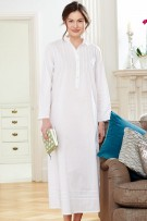 Bonsoir of London Victoria Long Sleeves Nightdress