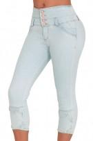 834954554d9d Classic Shapewear Butt Lift High Rise Short Jeans 15018