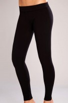 Classic Shapewear Twill Cotton Black Leggings
