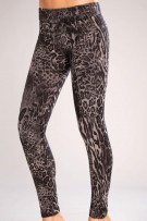 Classic Shapewear Twill Cotton Snow Leopard Leggings