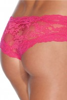 080317b3bf7 Coquette Floral Print Lace Crotchless Panty 142
