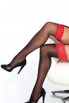 Coquette Sheer Thigh High Stocking