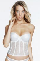Dominique Satin & Lace Brasselette