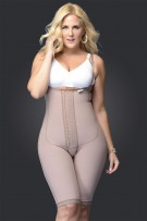Fajas D'Prada Short Bust-Free Girdle with Buttocks Enhancement