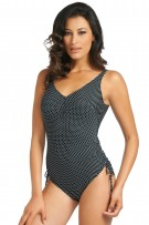 Fantasie Malola Underwire V-Neck Suit with Adjustable Leg