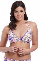 Freya Womens Tootsie Underwire Bandless Halter Bikini Top