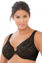 Glamorise Front Closing Stretch Lace Wonderwire