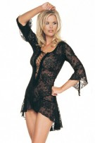 Leg Avenue 2-Piece Lace Flair Sleeves Dress