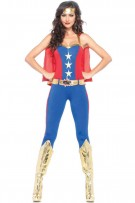 Leg Avenue 3-Piece Comic Book Hero Costume