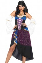 Leg Avenue 4-Piece Tarot Card Gypsy Costume