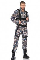Leg Avenue Men's 2-Piece Paratrooper Costume