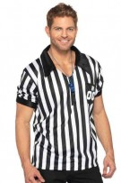 Leg Avenue Men's 2-Piece Referee Shirt Costume