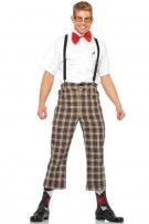 Leg Avenue Men's 4-Piece Nerdy Ned Costume