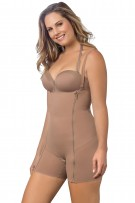 Leonisa Buttlifter Tummy Control Body Shaper Boyshort with Removable Pads