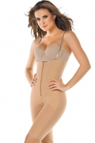 Leonisa Full Thigh Strapless Body Shaper