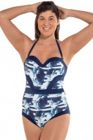 Leonisa Highlights Moderate Compression One-Piece Swimsuit