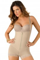 Leonisa Strapless Power Tummy Control Bodysuit