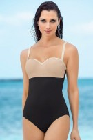 Leonisa Strapless Super Firm Control One-Piece Swimsuit