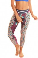 Liquido Patterned Yoga Legging