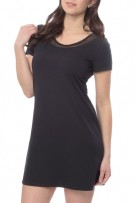 Lusomé Luxe Bette Cap Sleeve Nightshirt
