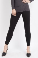 Lysse Lace Up Ponte Leggings