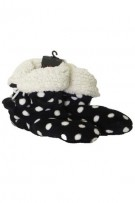 MeMoi Dotted Fluff Mid Cut Slipper