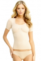 MeMoi SlimMe Short Sleeve Shaping Cami